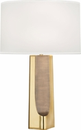 Robert Abbey 174 Margeaux Contemporary Brass with Matte Brass Table Light