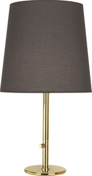 Robert Abbey 2075 Rico Espinet Buster Polished Brass Side Table Lamp