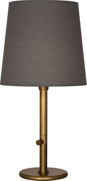 Robert Abbey 2803 Rico Espinet Buster Chica Aged Brass Table Lamp Lighting