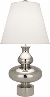 Robert Abbey 286 Jonathan Adler Hollywood Contemporary Polished Nickel Table Light