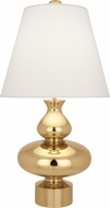 Robert Abbey 287 Jonathan Adler Hollywood Contemporary Polished Brass Table Lighting