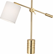 Robert Abbey 291 Campbell Modern Polished Brass Lighting Table Lamp