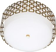 Robert Abbey 664 Jonathan Adler Parker Contemporary Antique Brass Home Ceiling Lighting