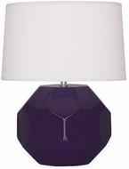 Robert Abbey AM02 Franklin Amethyst Glazed Ceramic 9  Lighting Table Lamp