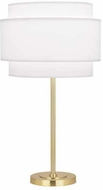 Robert Abbey AW130 Decker Modern Modern Brass Lighting Table Lamp
