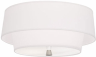 Robert Abbey AW144 Decker Modern Polished Nickel Ceiling Light