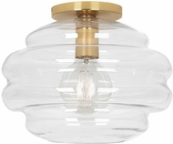 Robert Abbey CL64 Horizon Modern Modern Brass Ceiling Light Fixture