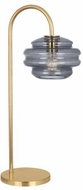 Robert Abbey GY62 Horizon Contemporary Modern Brass Reading Lamp