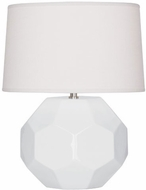 Robert Abbey LY01 Franklin Lily Glazed Ceramic 13 Side Table Lamp