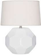 Robert Abbey LY02 Franklin Lily Glazed Ceramic 9 Table Lamp