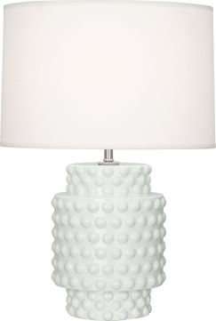 Robert Abbey LY801 Dolly Lily Glazed Textured Ceramic 21 Table Top Lamp