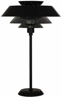 Robert Abbey PB780 Pierce Modern Piano Black Gloss Lighting Table Lamp