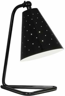 Robert Abbey PB988 Pierce Contemporary Piano Black Gloss Accent Lamp