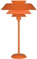 Robert Abbey PM780 Pierce Modern Pumpkin Gloss Table Lamp