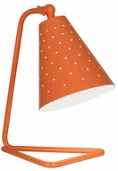 Robert Abbey PM988 Pierce Modern Pumpkin Gloss Accent Lamp