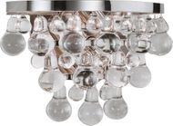 Robert Abbey S1001 Bling Contemporary Polished Nickel Sconce Lighting