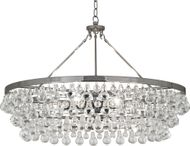 Robert Abbey S1004 Bling Contemporary Polished Nickel Chandelier Lighting