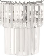 Robert Abbey S1916 Spectrum Polished Nickel Wall Sconce Light
