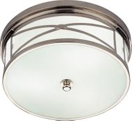 Robert Abbey S1985 Chase Modern Polished Nickel Ceiling Light