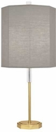 Robert Abbey SG04 Kate Modern Brass Side Table Lamp