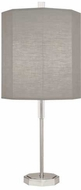 Robert Abbey SG05 Kate Polished Nickel Table Lamp