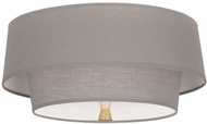 Robert Abbey SG143 Decker Modern Modern Brass Flush Mount Lighting