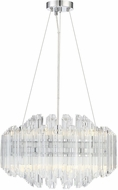 Savoy House 1-0400-12-11 Marquette Contemporary Polished Chrome LED 20 Pendant Lighting