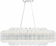 Savoy House 1-0402-20-11 Marquette Contemporary Polished Chrome LED Kitchen Island Light