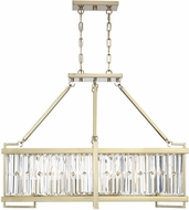 Savoy House 1-2142-8-127 Cologne Noble Brass Island Light Fixture