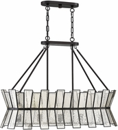 Savoy House 1-2192-5-13 Chapelle Contemporary English Bronze Island Light Fixture