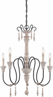 Savoy House 1-290-5-23 Ashland Traditional White Washed Driftwood 29  Chandelier Lighting