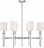 Savoy House 1-306-8-109 Chatham Polished Nickel 32 Ceiling Chandelier