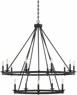 Savoy House 1-312-15-44 Middleton Classic Bronze Hanging Chandelier