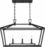 Savoy House 1-323-3-89 Townsend Matte Black Kitchen Island Light Fixture