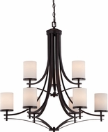 Savoy House 1-331-9-13 Colton English Bronze 33  Chandelier Lamp