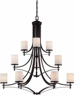 Savoy House 1-332-12-13 Colton English Bronze 40  Ceiling Chandelier