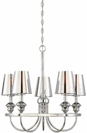 Savoy House 1-6501-5-11 Arden Polished Chrome Chandelier Light