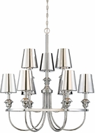 Savoy House 1-6502-9-11 Arden Polished Chrome Ceiling Chandelier