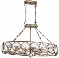Savoy House 1-6701-6-114 Warwick Contemporary Brittannia Gold Kitchen Island Lighting