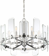 Savoy House 1-7300-6-11 Harrow Polished Chrome Chandelier Lighting