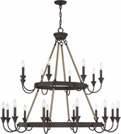 Savoy House 1-8601-20-32 Sienna Artisan Rust Chandelier Light