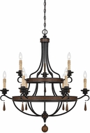 Savoy House 1-8902-9-41 Kelsey Durango 34  Chandelier Light