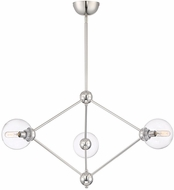 Savoy House 1-9093-3-109 Bonn Contemporary Polished Nickel Ceiling Chandelier