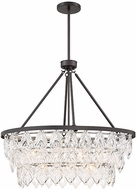 Savoy House 1-9294-7-13 Granby Contemporary English Bronze Hanging Lamp