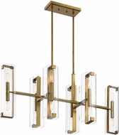 Savoy House 1-9773-12-322 Winfield Contemporary Warm Brass Kitchen Island Light Fixture