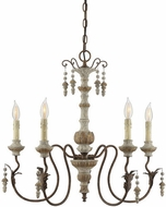 Savoy House 1-9997-5-94 Dauphin Traditional Avignon Chandelier Lamp