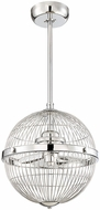 Savoy House 17-339-FD-11 Arena Modern Chrome Pendant Home Ceiling Fan