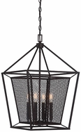 Savoy House 3-11004-4-13 Vernon English Bronze 16  Entryway Light Fixture