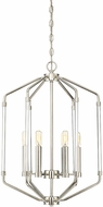 Savoy House 3-200-6-109 Reed Modern Polished Nickel 16  Foyer Lighting