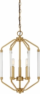 Savoy House 3-201-3-322 Reed Contemporary Warm Brass 14  Entryway Light Fixture